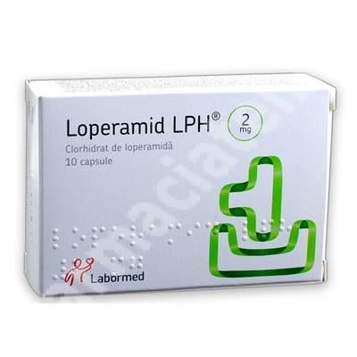 Loperamid, 10 capsule, Labormed