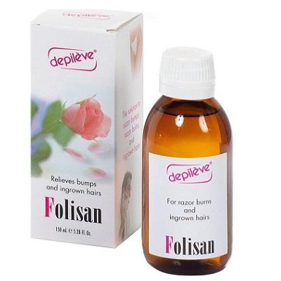 Loțiune anti-foliculită Folisan, 150 ml, Depileve