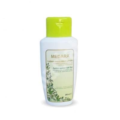Lotiune contra caderii parului Medara cu chinina si extracte de plante, 200 ml, Mebra