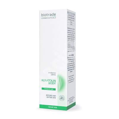Lotiune de corp hidratanta cu 12% uree, 200 ml, Biotrade