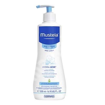 Lotiune de corp hidratanta pentru piele normala Hydra Bebe, 500 ml, Mustela