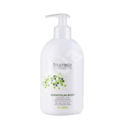 Lotiune de corp pentru piele foarte uscata Keratolin Body 8% Urea, 200 ml, Biotrade