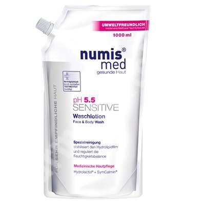 Lotiune de spalare pH 5.5 Sensitive, 1 litru, NumisMed
