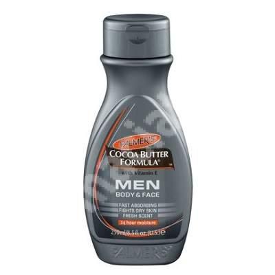 Loțiune hidratanta de față și corp pentru bărbați, 250 ml, Palmer's
