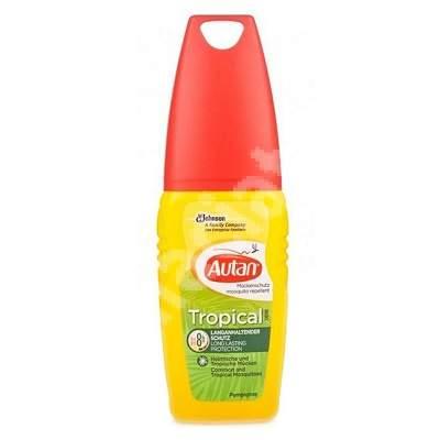 Loțiune împotriva țânțarilor, Autan Tropical, 100 ml, Johnson