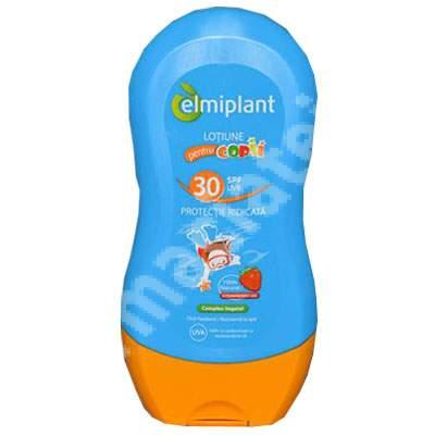 Loțiune protecție solară pentru copii SPF 30, 200 ml, Elmiplant