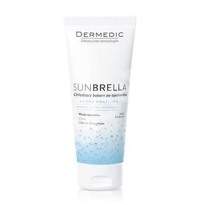 Lotiune racoritoare dupa plaja pentru piele sensibila, foarte uscata, deshidratata Sunbrella, 200 g, Dermedic