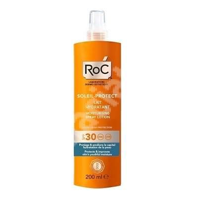 Lotiune spray hidratanta SPF 30 Soleil-Protect, 200 ml, Roc