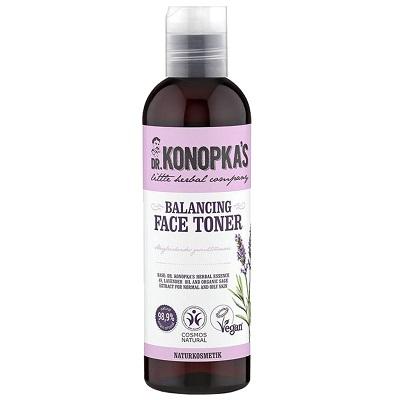 Loțiune tonică echilibrantă pentru față, 200 ml, Dr. Konopkas