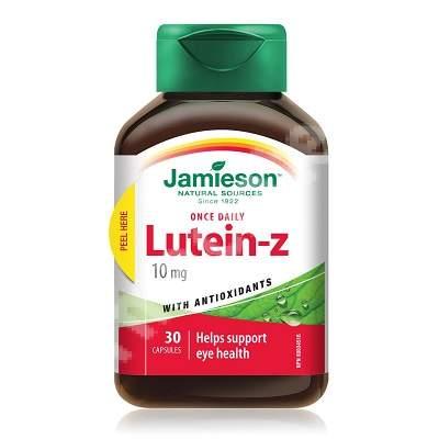Lutein-z 10 mg, 30 capsule, Jamieson