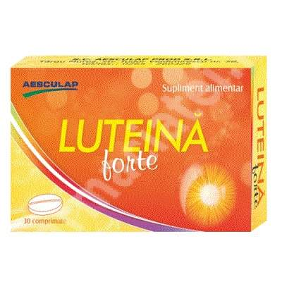 Luteina Forte, 30 comprimate, Aesculap
