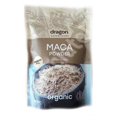 Maca pulbere organica Eco, 200 g, Dragon Superfoods