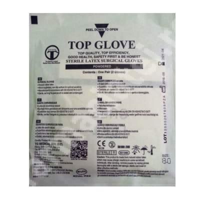Mănuși chirurgicale sterile, mărimea 8.0, 1 pereche, Top Glove
