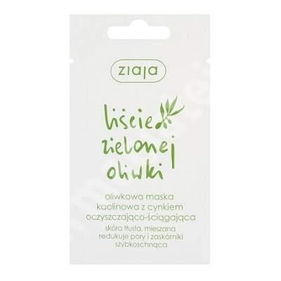 Masca astringenta pentru ten gras-mixt Olive Leaf, 7 ml, Ziaja