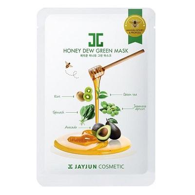 Mască cu miere de Manuka și Complex Verde, 25 ml, Jayjun