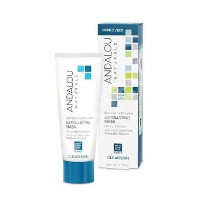 Mască enzimatică pentru curățarea în profunzime a tenului Clear Skin Andalou, 53 ml, Secom
