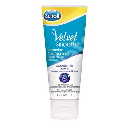 Masca hidratanta de noapte Velvet Smooth, 60 ml, Scholl