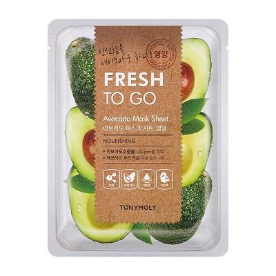 Masca hranitoare cu Avocado, Fresh To Go, 25 g, TonyMoly