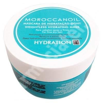 Masca intens hidratanta light Weightless Hydrating Mask, 250 ml, Moroccanoil