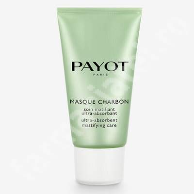 Masca matifianta si ultra-absorbanta cu carbune Pate Grise, 50 ml, Payot