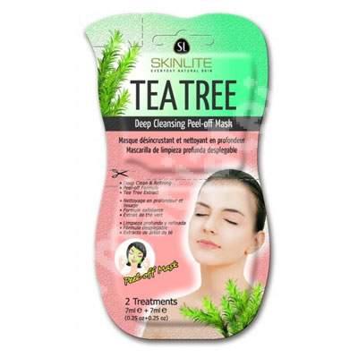 Masca peel-off cu arbore de ceai, 2x7 ml, Skinlite