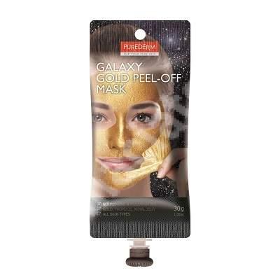 Masca peel-off Galaxy Gold, 30 ml, Purederm