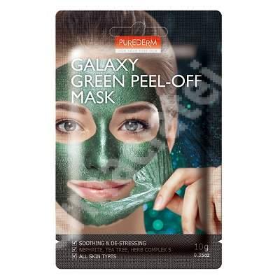 Masca peel-off Galaxy Green, 10 ml, Purederm