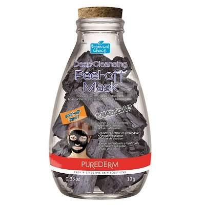 Masca peel-off pentru curatare profunda si purifiere cu extract de carbune Botanical Choice, 10 g, Purederm