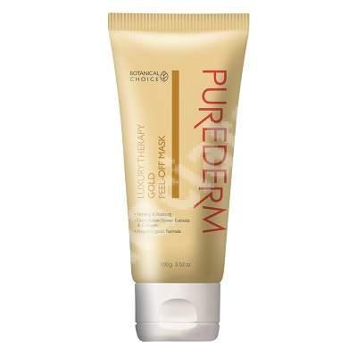 Masca peel-off pentru fermitate si vitalitate Luxury Therapy Gold, 100 g, Purederm