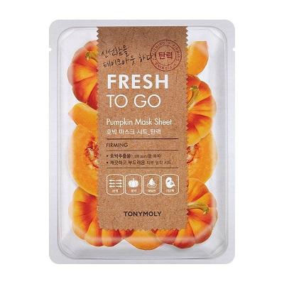 Masca pentru fermitate cu Dovleac Fresh To Go, 25 g, TonyMoly