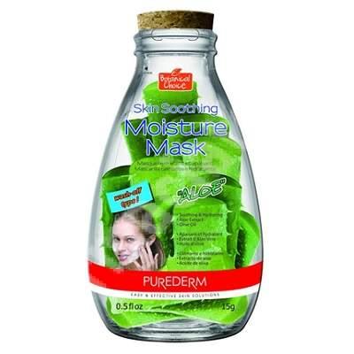 Masca pentru hidratare si relaxare cu extract de Aloe Botanical Choice, 15 ml, Purederm