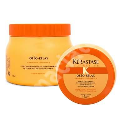 Mască pentru păr uscat și rebel Masque Oleo Relax, 500 ml, Kerastase