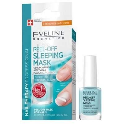 Masca profesionala pentru unghii Nail Therapy Pell-off, 12 ml, Eveline Cosmetics