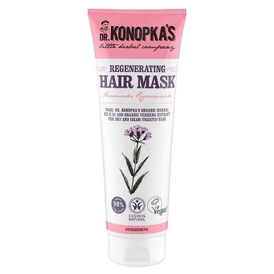 Masca regenerantă pentru păr uscat și vopsit, 200 ml, Dr. Konopkas