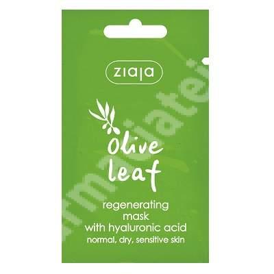 Masca regeneranta pentru ten normal si sensibil Olive Leaf, 7 ml, Ziaja