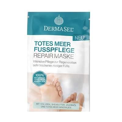 Masca reparatorie pentru picioare, 12 ml, DermaSel