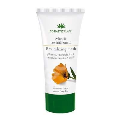 Masca revitalizanta cu extract de galbenele si vitaminele A si F, 100 ml, Cosmetic Plant