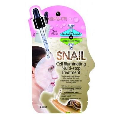 Masca tratament cu extract de melc pentru luminozitatea tenului, Skinlite