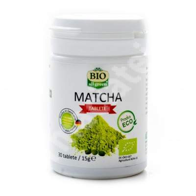 Matcha, 30 tablete, Bio All Green