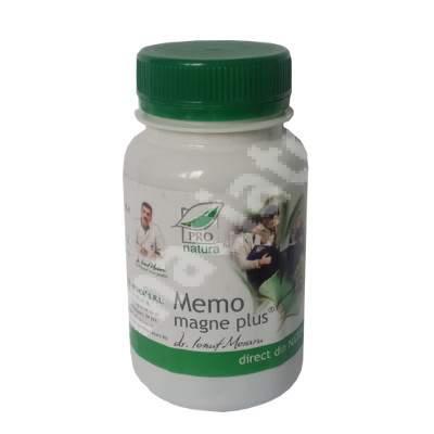 Memo Magne Plus, 60 comprimate, Pro Natura
