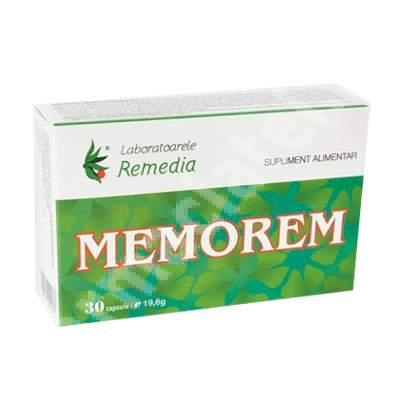 Memorem, 30 capsule, Remedia