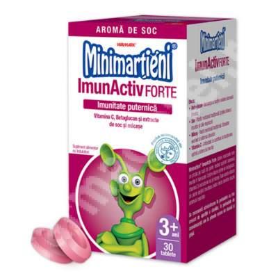 Minimarțieni - ImunActiv Forte, 30 tablete, Walmark