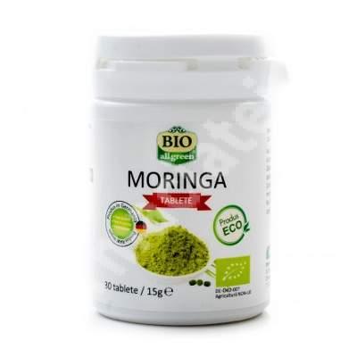 Moringa, 30 tablete, Bio All Green