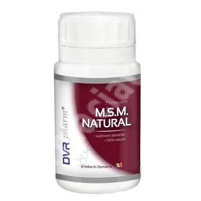 MSM Natural, 90 capsule, DVR Pharm