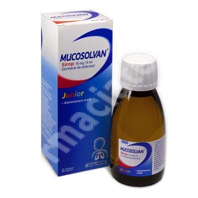 Mucosolvan Junior, 100 ml, Boehringer Ingelheim