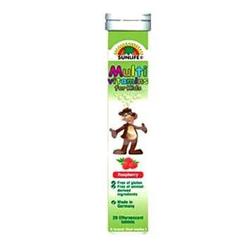 Multivitamine pentru copii, 20 tablete, Sunlife