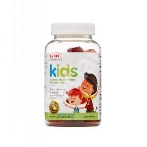 Multivitamine pentru copii între 2-12 ani Kids Milestones (102521), 120 jeleuri gumate, GNC