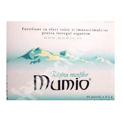 Mumio Rasina Muntilor, 60 pastile, Biovit
