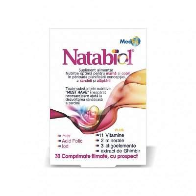 Natabiol plus, 30 comprimate, MedEq