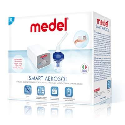 Nebulizator cu microcompresor Medel Smart 95151, Medel